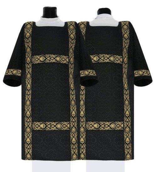 Black Semi Gothic Dalmatic