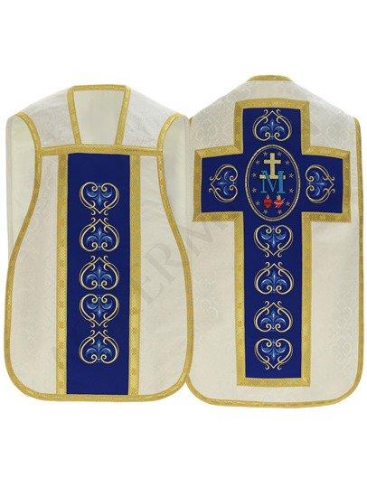 Cream Marian Roman Chasuble