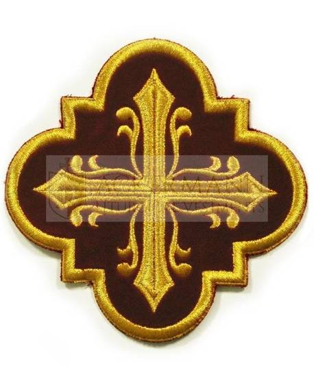 Embroidered Applique Cross