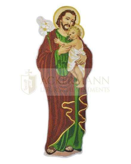 Embroidered Applique St Joseph