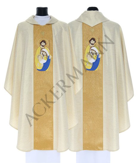 Gold Gothic Chasuble Christmas model 762