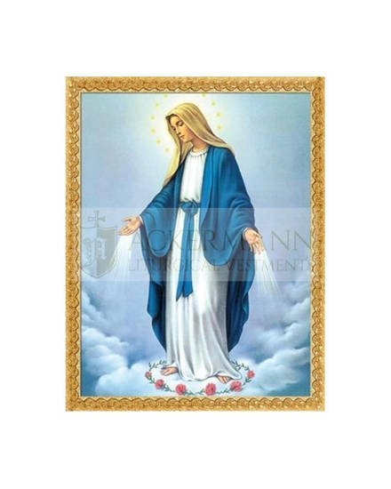 """Picture on the fabric """"Immaculate Mary"""""""