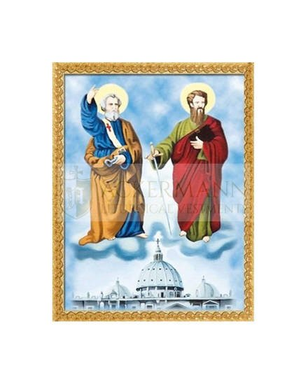 """Picture on the fabric """"St. Peter and Paul"""""""